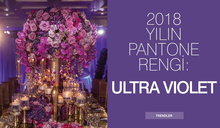 2018 yılın pantone rengi: ultra violet